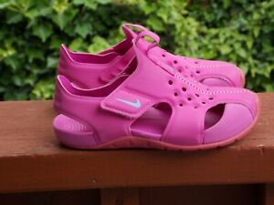Nike Sunray Protect 2 Sandals/Water Shoes Toddler Girls Size 11c Pink