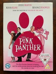 The Pink Panther DVD 2006 Comedy Movie with Steve Martin + Slipcover