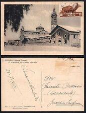 STORIA POSTALE Colonie ERITREA 1935 Cartolina da PM? a Guardia Sanframondi (GB1)