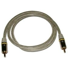 6ft Single Premium RCA Cable, Oxygen Free Copper