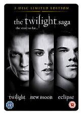 THE TWILIGHT SAGA  - The Story so Far (DVD, 2011, 3-Disc Set) - Region 2 NEW