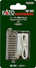 "Kato 20-041 N Unitrack 62mm 2 7/16"" Feeder Track"