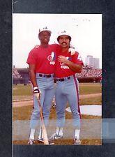 Warren Cromartie & Bobby Ramos  EXPOS UNSIGNED 3-3/8 x 5 COLOR SNAPSHOT PHOTO #6
