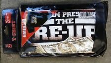 Bravado Official EMINEM Present the RE-UP Hip Hop Rap Dollar Money T-Shirt S