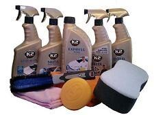 Autopflege Set Außen Reinigunsset Autowäsche Autowasch Set 10-tlg. K2