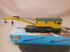 HO SCALE READING 90906 CUSTOM DECORATED WRECKING CRANE
