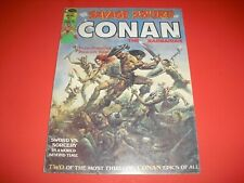 Savage Sword of Conan the Barbarian #1 in FINE COND from 1974! Marvel Magazine