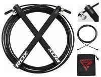 RDX Corda Per Saltare Pro Acciaio Regolabile Velocità Pugilato Rope IT