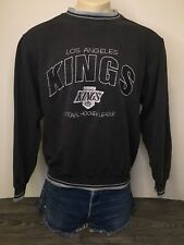 LA Kings Sweatshirt 90s Vtg Hockey Los Angeles NHL Sweater Logo Athletic Large