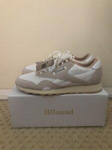 JJJJound Reebok Classic Nylon Size 11 New White/Grey