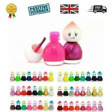 Box 24 Novelty Nail polish - Baby doll shape varnish - Children's Kids manicure