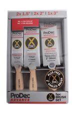 ProDec Advance 6 Piece X-Zero Synthetic Paint Brush Set + Angled Brush (ABPT062)