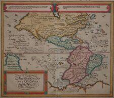 Americae sive novi Orbis - Amerika - Sebastian Münster, ca. 1588 - Rare map