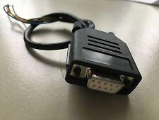 RS232-Stecker-Female seriell SUB-D 9-pol. Stecker öffenbar Adapterkabel 20cm