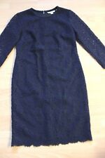 BODEN pretty Navy Blue Jennifer Lace Dress  8R  NEW . WW167