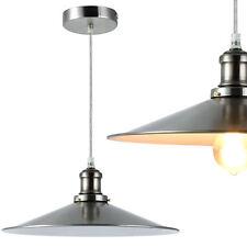 Stijlvolle - Design Hanglamp - lamp - woonkamer - Zilver - wit - 1xE27