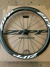 ZIPP 302 CARBON CLINCHER C/LOCK DISC BRAKE FRONT WHEEL.