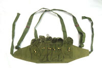 Vietnam War Chinese Army Canvas Type 79 Chest Rig Ammo Pouch Mag Bandolier