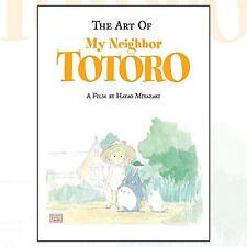 Art of My Neighbor Totoro (Studio Ghibli Library) Book By Hayao Miyazaki, NEW