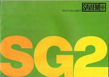 Catalogue publicitaire gamme RENAULT SG2 SG 2 SAVIEM CAMION