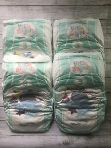 Reborn Baby Doll Nappies x 4 Sizes 3, 4 or 4+