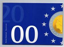 FDC set Nederland 2000 Introductie Euro munten