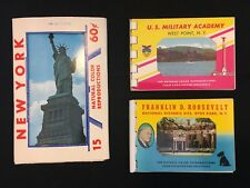 Lot of Vintage NEW YORK Photo Books Post Cards ~ NYC ~ Westpoint ~ Hyde Park
