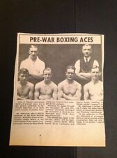 K3-5 Ephemera 1974 Reprint Picture Thanet Pre War Boxers Charlie Smith Willie