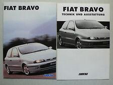Prospekt Fiat Bravo, 1.1997, 8 Seiten, folder + Technik/Ausstattung