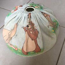 Lustre suspension abat jour vintage en tissu Disney Le Livre De La Jungle