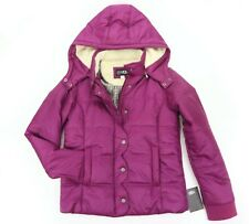UGG Australia UKIAH II Quilted Coat Sugar Plum Convertible Hooded Jacket 14 / 16