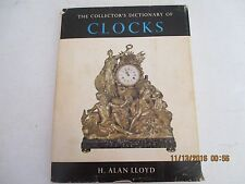 The Collectors Dictionary of Clocks 1964  Lloyd Watchmakers Repair Book j163
