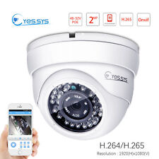 Eyes.sys 2.0MP 1920*1080P 1080P HD CCTV 36IR Outdoor Dome IP PoE Security Camera