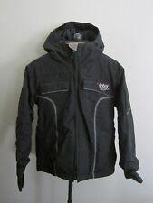 Roxy 5000 Girls Black Ski Snow Snowboard Insulated Hooded Jacket S EUC