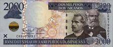 Dominikanische Republik / Dominican Republic 2.000 Pesos 2012  Pick 188b