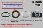 M42-M39 L39 X12mm Helicoid tube  M39 L39 - xpro1 Mount Flange  ring free