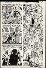 Superman #15 Splash Art by John Byrne Skyhook DC 1988