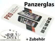 iPhone 4 4S Echt Glas Panzer Schutz Folie Kratzfest Nano Versiegelt 0,3mm Dünn