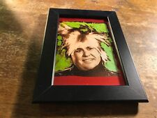 "John Candy Andy Warhol Mixed Media ""Candy Warhol"" 4x6 Framed Print Uncle Buck"