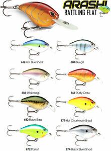 Storm Arashi Rattling Flat // AFT07 // 5,5cm 12g Fishin Lures (Choice of Colors)