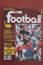 1979 GOAL POST MAGAZINE  CLEVELAND BROWNS BRIAN SIPE COVER