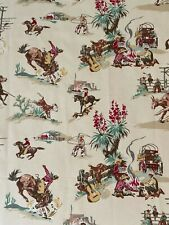 Rodeo Cream Fabric By Golding Cowboy Home Decor Fabric- 1 Yard Piece
