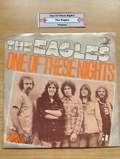 "7"" vinyl - Eagels - One Of These Nights"