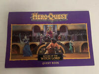 HeroQuest Return of the Witch Lord Quest Book Artifact Cards Replacement MB 1991