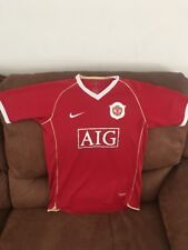 Nike Vintage Manchester United Red Devils Soccer Jersey Size XL Youth