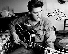 ELVIS PRESLEY REPRINT 8X10 AUTOGRAPHED SIGNED PHOTO PICTURE COLLECTIBLE RP