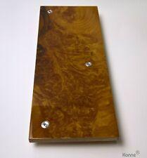 Tone Arm Board for Thorens TD 126 I / II / III Tonarmbrett Madrona Burl