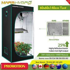 Mars Hydro 2'x2'x4.5' Hydroponic Indoor Grow Tent Reflective Mylar Non Toxic Hut
