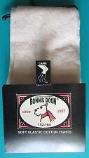 LEGGING MI-LONG FILLE 152-164cm coton ivoire écru Chou Chou BONNIE DOON NEUF