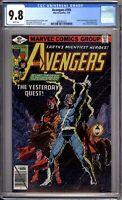 Avengers 185 CGC Graded 9.8 NM/MT Marvel Comics 1979